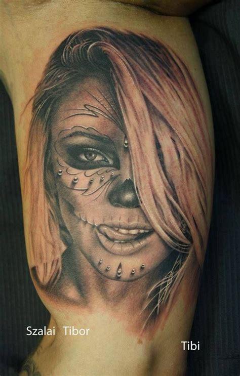 head tattoo pain 345 best images about santa muerte on santa