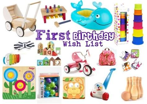 1 Year Baby Birthday Gifts by Birthday Gift Wish List The Gift Guide For