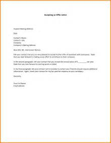 Acceptance Letter Email offer letter email articleezinedirectory