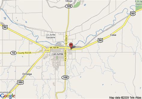 map of la junta colorado map of americas best value inn and suites la junta la junta