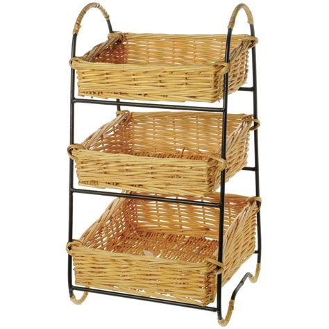 3 Tier Fruit Basket Floor Stand by 3 Tier Fruit Basket Floor Stand 28 Images 2015 June Basket Merchandiser Display Wire Willow