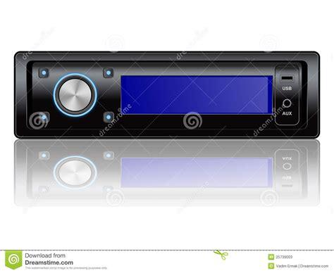 car audio system icon stock photos image 25739003