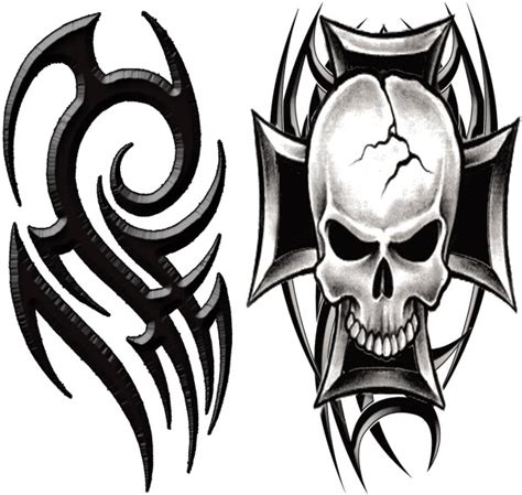 tribal skull tattoos for men tribal tattooforaweek temporary tattoos largest