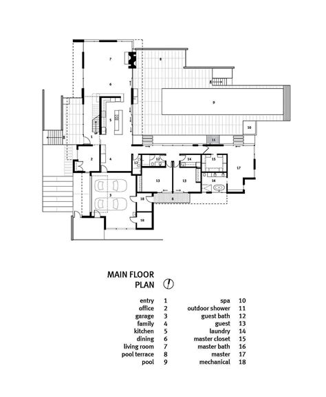 Large Single Story House Plans by 10 Modern One Story House Design Ideas Discover The