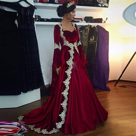 design dress muslimah 2017 2017 new burgundy gold long muslim wedding dresses long