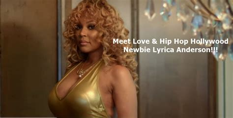 lyrica anderson and beyonce meet love hip hop hollywood newbie lyrica anderson