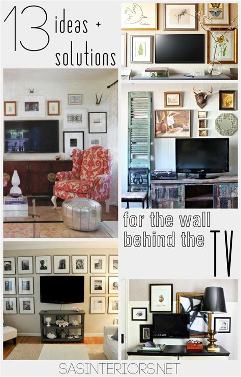 tv decor ideas solutions for the wall behind the tv jenna burger