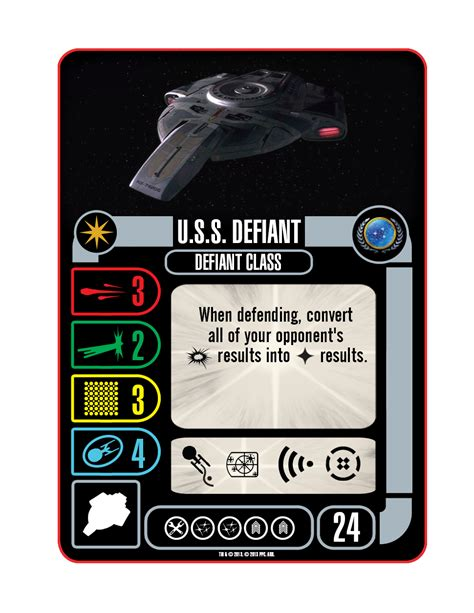 Promo Posthuman Defiant Expansion Board trek attack wing u s s defiant defiant class preview attack wing