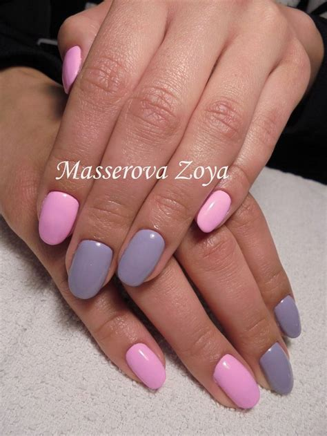 nail color 25 unique two color nails ideas on color