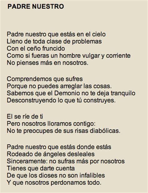 poemas de 4 estrofas de padre de 8 silabas an 225 lisis poemas nicanor parra