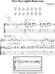bob marley quot turn your lights low quot guitar tab in g