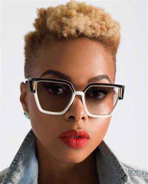 really short haircuts with black on bottom blonde on top pics of short hairstyles for black women short