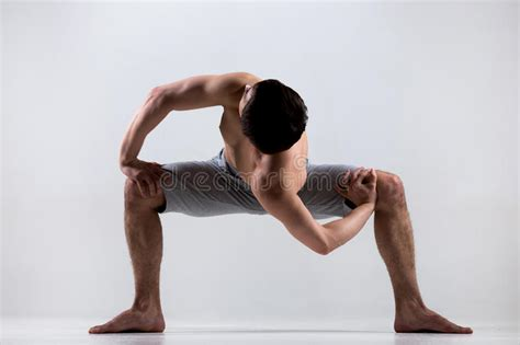 pictures of twisting temple twist yoga pose stock image image of activity