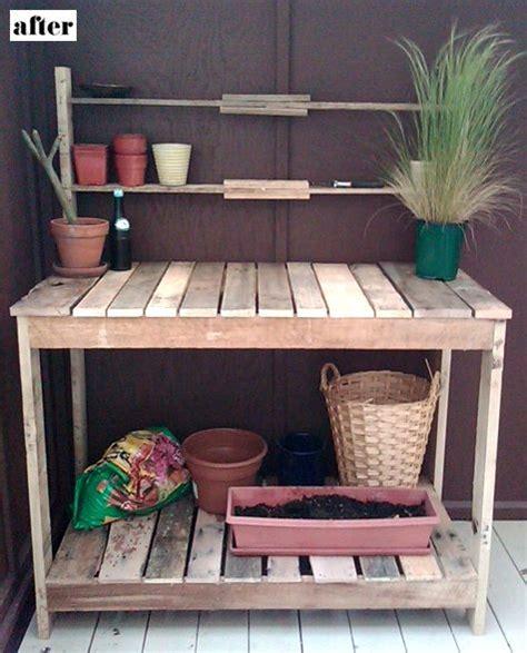 etabli de jardin 10 232 res de recycler des palettes ecoloquest agir pour l 233 cologie au quotidien