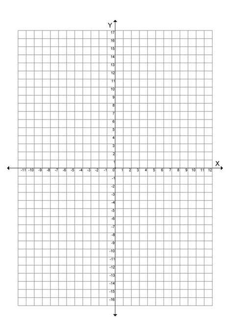 printable graph paper 20 by 20 download graph paper with numbered coordinates up to 20