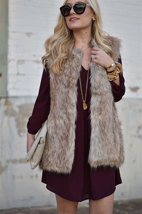 with fur vest faux fur vest murphy s