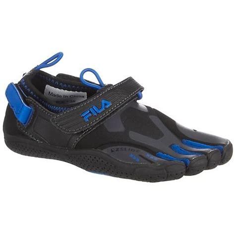 fila toe shoes for five finger shoes fila skele toes ez slide black shoes