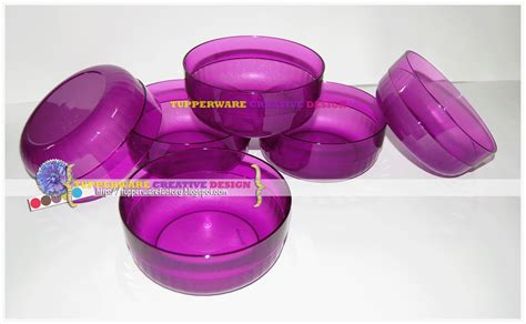 Tupperware Purple Tupperware Creative Design Tupperware Oversea November 2012
