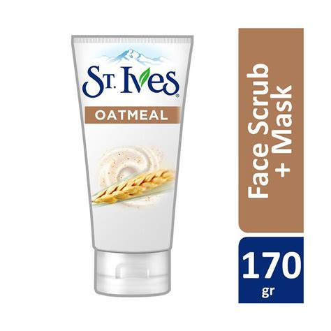 St Ives Oatmeal Scrub Mask jual st ives nourished smooth oatmeal scrub mask