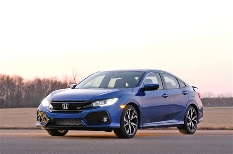 honda civic 2017 honda civic si sedan might be at 32 mpg