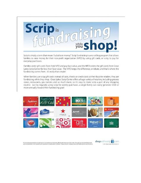 Scrip Gift Card List - hfs scrip gift card program holy family school ashland ky
