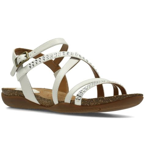wide sandals clarks autumn peace womens wide sandals from