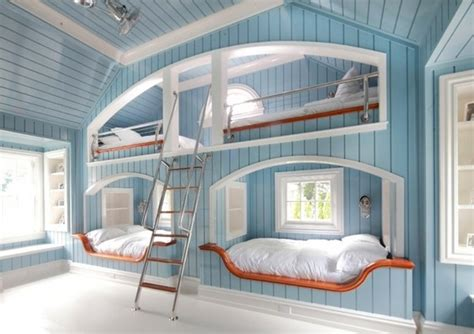 Space Bed by Bunk Beds Optimal Solution For Large Families