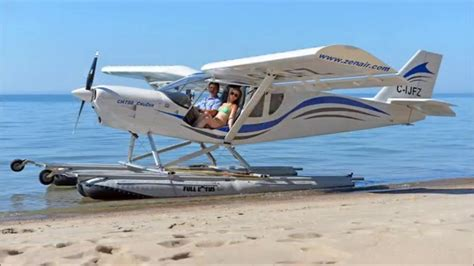 pontoon plane for sale hibious full lotus floats on zenith ch 750 cruzer light
