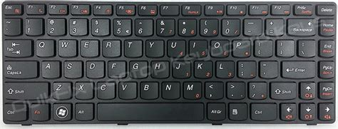 Keyboard Laptop Lenovo G480 lenovo ideapad g480 replacement laptop keyboard