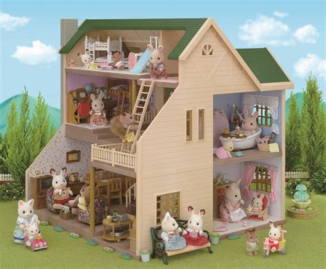 sylvanian families cottage modern calico critters cozy cottage cottage house plan