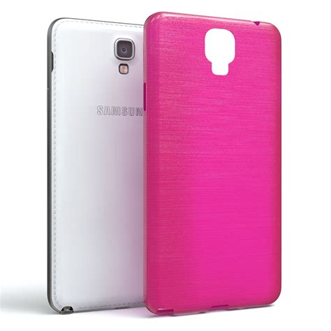 Silikon Pink Samsung Note 2 schutz h 252 lle f 252 r samsung galaxy note 3 neo brushed cover
