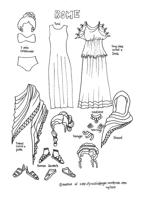 Ancient Rome Report Template Paper Dolls Of Ancient History Ancient Rome Rome And Dolls