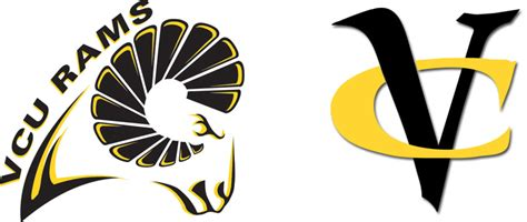 vcu colors brand new new logos for vcu athletics by rickabaugh graphics