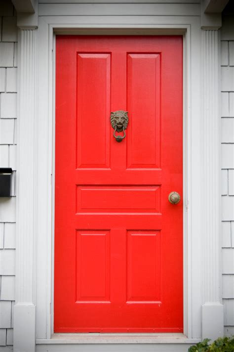 red front doors 35 different red front doors many designs pictures