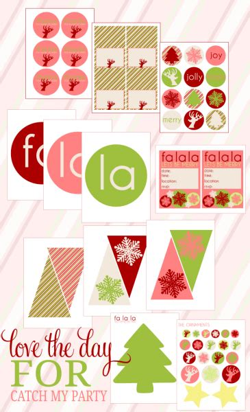 free printable christmas party decorations 8 budget friendly christmas party favors and decorations