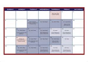 Calendar Planning Template by Planning Calendar Template 8 Free Documents In Pdf