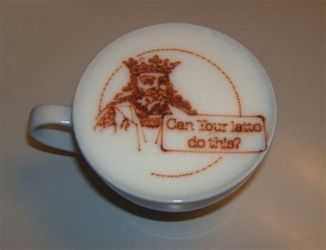 how to make designs on coffee latte art printing machine how to build one oleksiy
