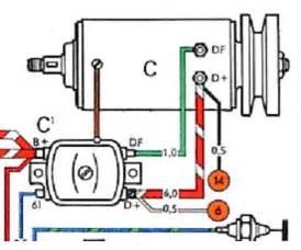 thesamba view topic new engine different alternator wiring