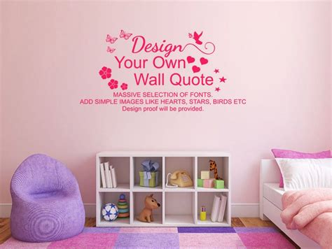 Design Your Own Vinyl Wall