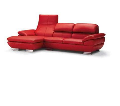 Italian Sectional Sofas by Dreamfurniture 575 Italian Top Grain Leather