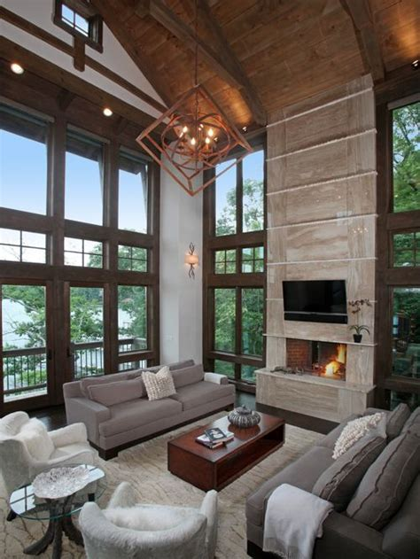 contemporary rustic decor modern rustic houzz