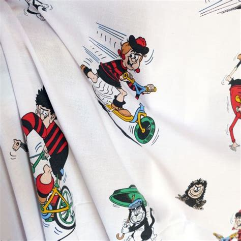 Original Character Retro Handmade Pu - vintage beano fabric