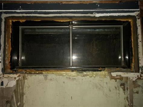 basement window replacement basement window replacement enlarge opening doityourself community forums