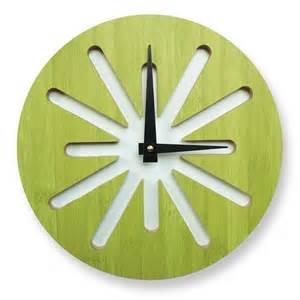 vitamini handmade cool clocks