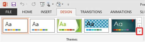 applying themes in excel 2013 applying themes in powerpoint word and excel 2013