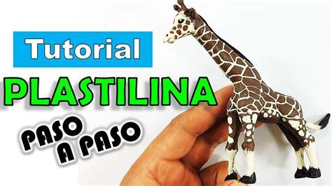como hacer una jirafa en plastilina tutorial de como hacer una jirafa de plastilina paso a paso polymer