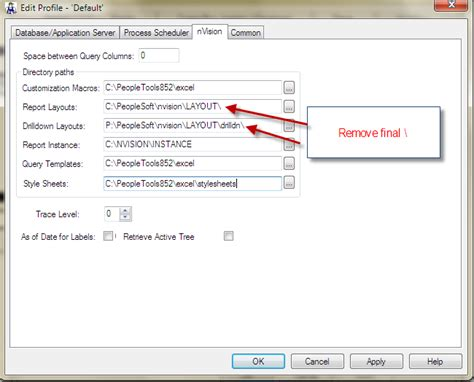 peoplesoft nvision issue resolution nvision drilldown