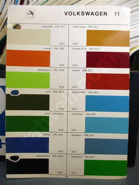 68 vw transporter original colors haku original