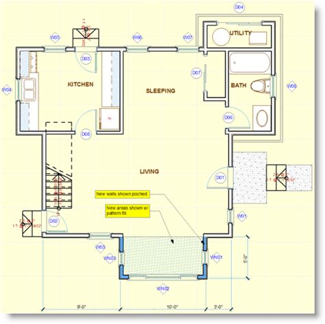 archicad home plans archicad tutorial remodels and additions in archicad