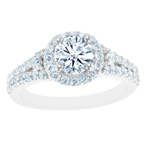 new york city district 14k white gold accented